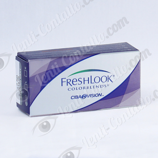 FRESHLOOK COLORBLENDS Alcon Ciba Vision lenti-colorate 2 pz