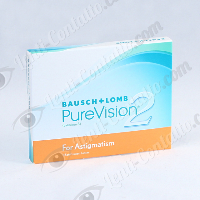 Bausch&Lomb Purevision 2HD for Astigmatism 3 lenti