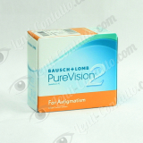 Bausch&Lomb Purevision 2HD for Astigmatism 6 lenti