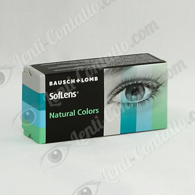 SOFLENS NATURAL COLORS Bausch & Lomb lenti-colorate 2pz