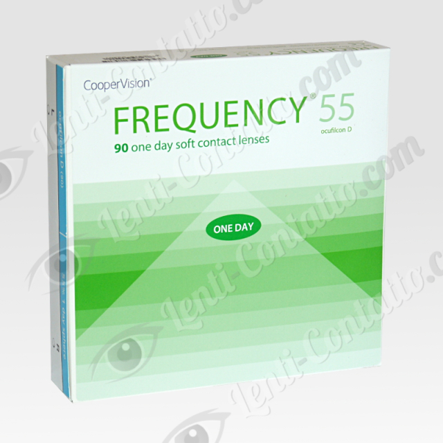 FREQUENCY 1 DAY CooperVision lenti-contatto 90 pz
