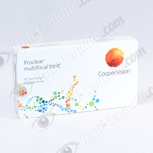 PROCLEAR MULTIFOCAL TORIC CooperVision lenti-contatto 3 pz