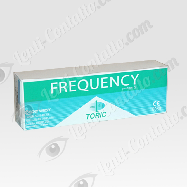 FREQUENCY 1 DAY TORIC CooperVision lenti-contatto 30 pz
