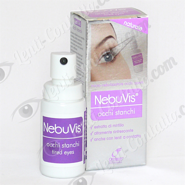 Omisan Nebuvis Spray Occhi Stanchi 10ml. – Spray Oculare