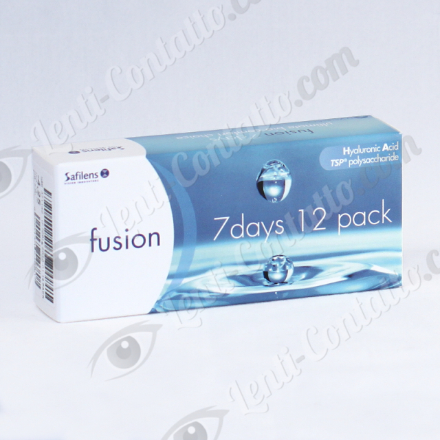 FUSION 7 DAYS Safilens lenti-contatto 12 pz.