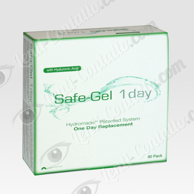 SAFE-GEL 1 DAY Safilens lenti-contatto 90pz.