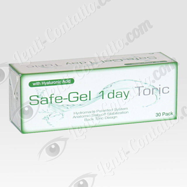 SAFE-GEL 1 DAY TORIC Safilens lenti-contatto 30pz.