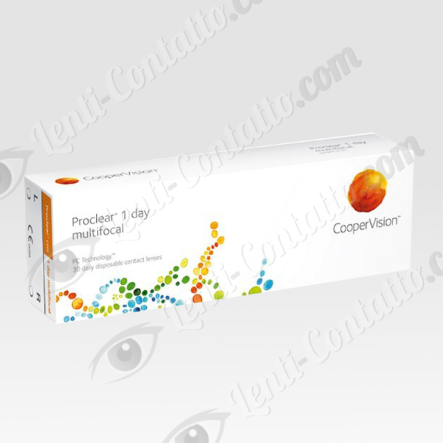 PROCLEAR 1 DAY MULTIFOCAL CooperVision lenti-contatto 30 pz