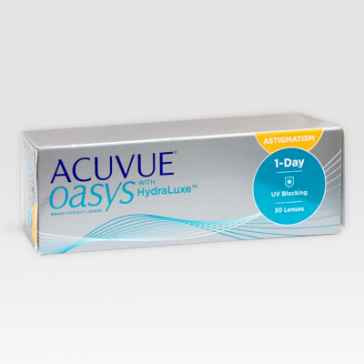 Acuvue Oasys 1-Day with Hydraluxe for ASTIGMATISM 30 lenti a contatto