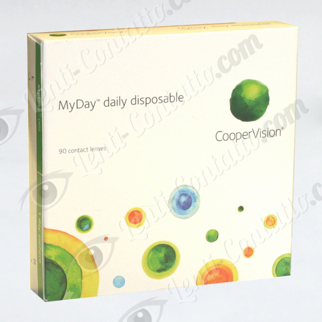 Coopervision MyDay daily disposable 90 lenti