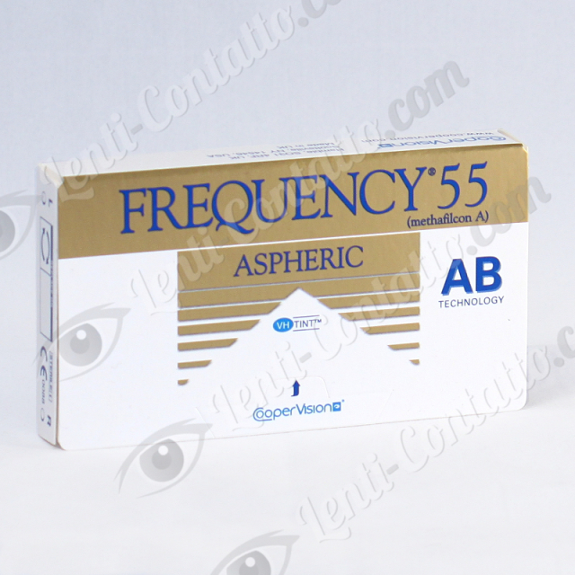 FREQUENCY 55 ASPHERIC CooperVision lenti-contatto 3 pz
