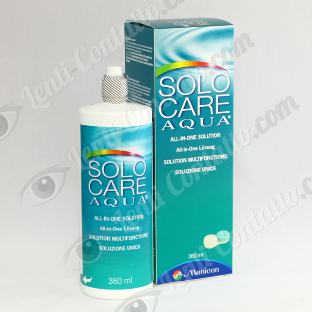 Menicon Solo Care Aqua 360ml