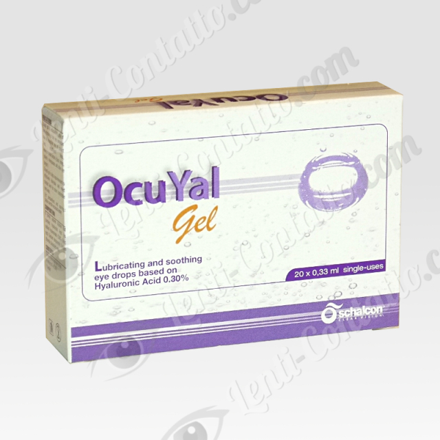 OcuYal Gel Monodose Schalcon lacrime-artificiali 20×0.33ml.