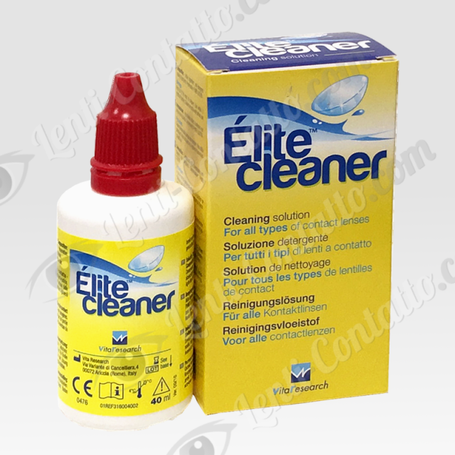 Elite cleaner lenti-contatto Vita Research 40ml