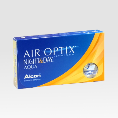 Alcon Ciba Vision AIR OPTIX NIGHT&DAY AQUA lenti-contatto 3 pz